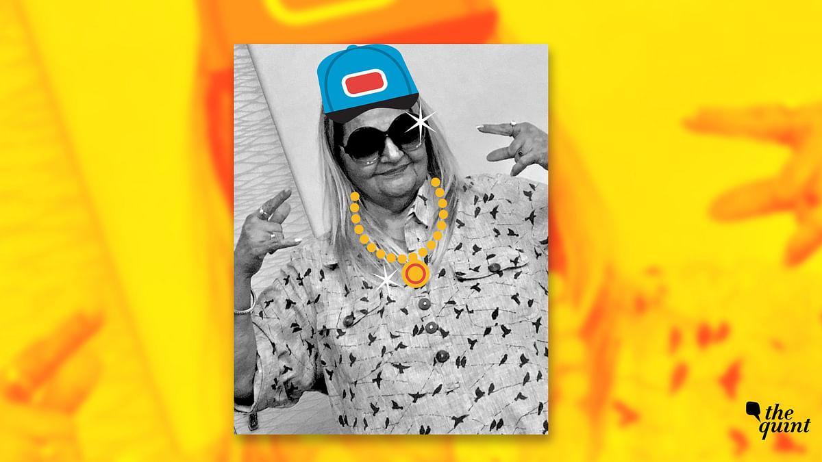 Watch dapper 'Rap Nani' rap about her life now.