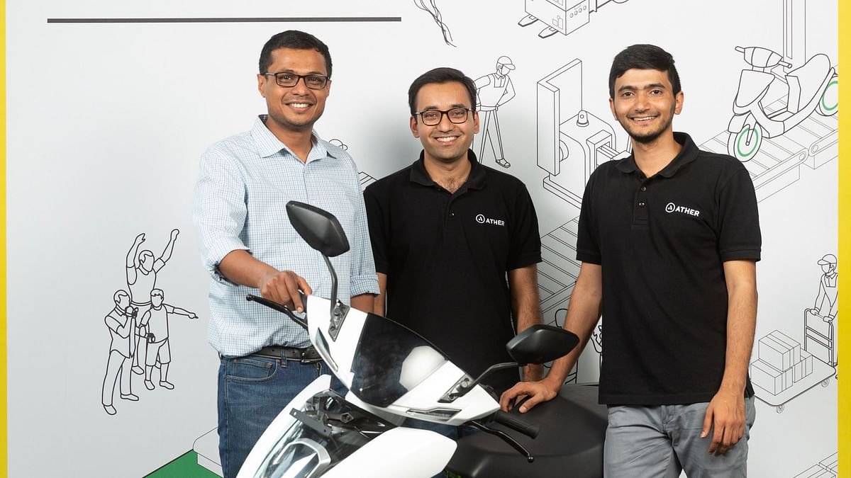 Ather Energy Raises Rs 355 Crore in New Round of Funding