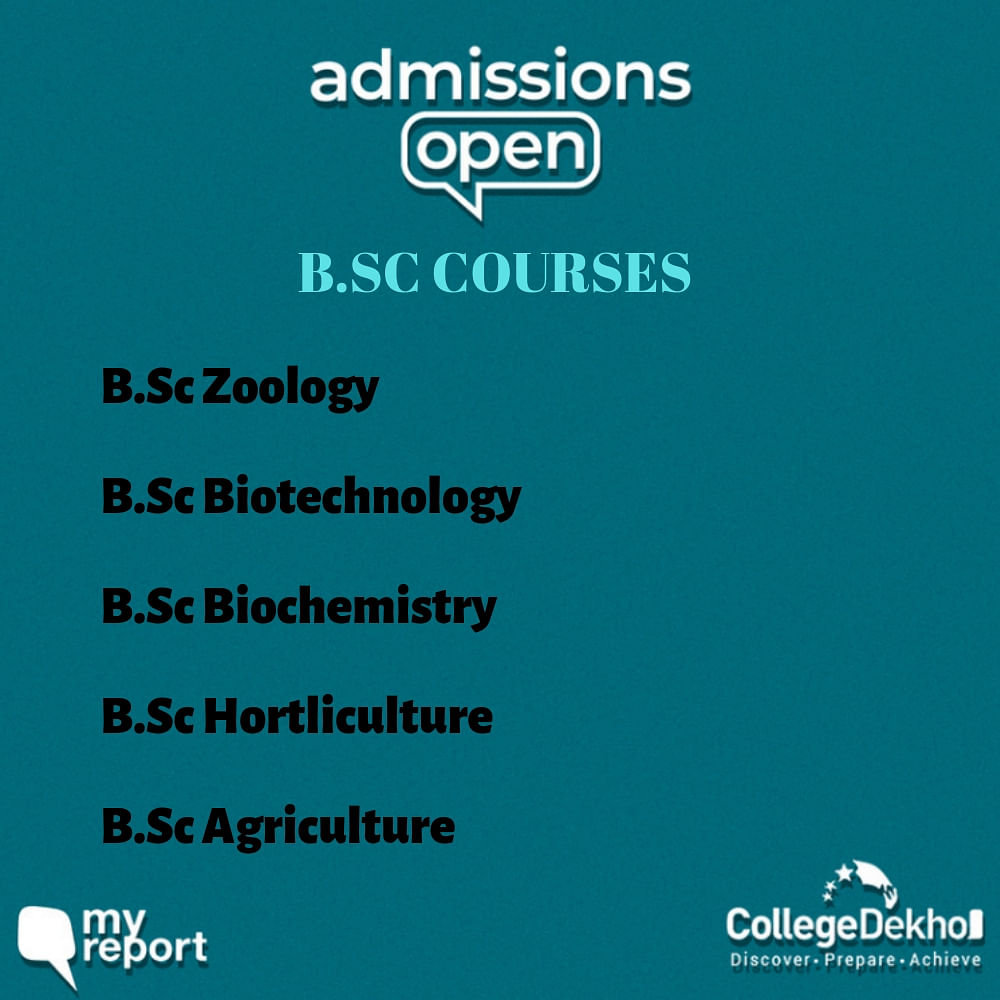 Admissions Open: What are the BSc Courses That We Can Opt for?