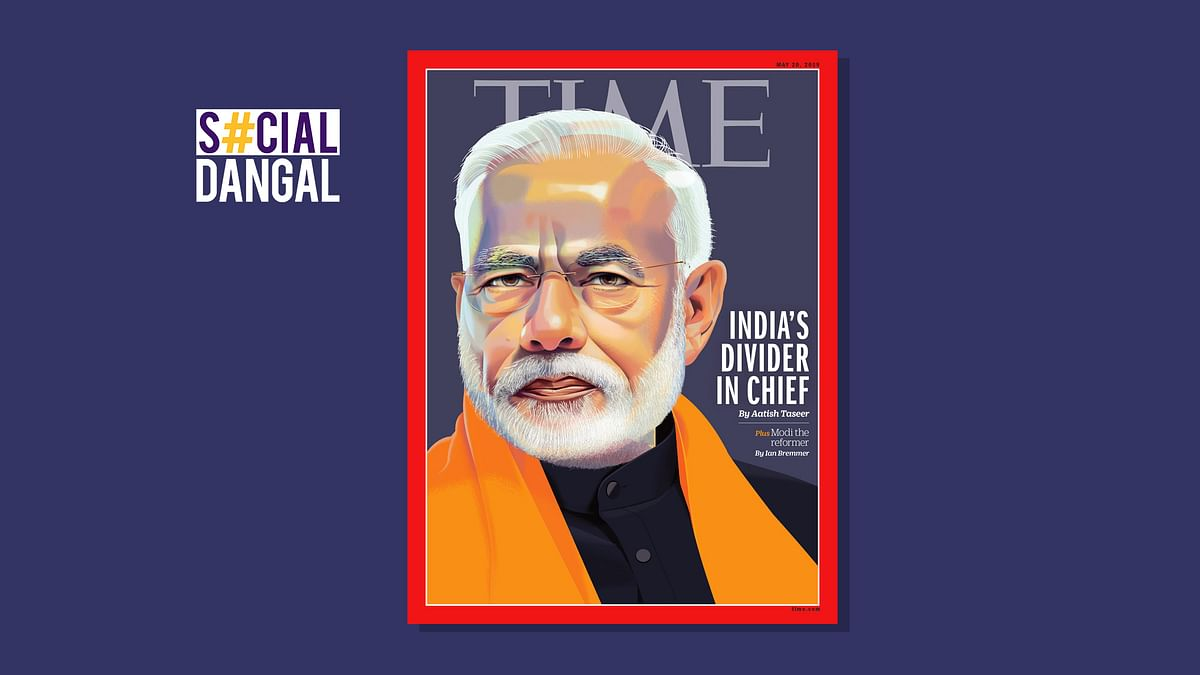 'Modi, the Tukde-Tukde Chief': Twitter On PM's TIME Magazine Cover