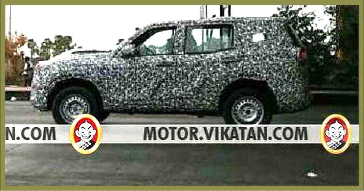 The 2020 Mahindra Scorpio has been spotted testing near Chennai.