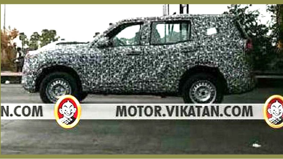 The 2020 Mahindra Scorpio has been spotted testing near Chennai for the first time.