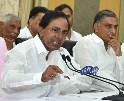 K Chandrasekhar Rao. (File Photo: IANS)