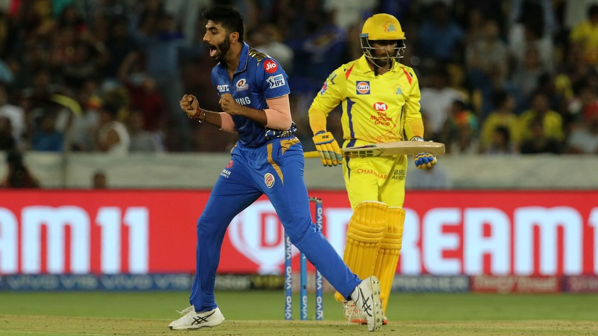 Jasprit Bumrah bowled the crucial 17th and 19th over in the match to help Mumbai win the match.
