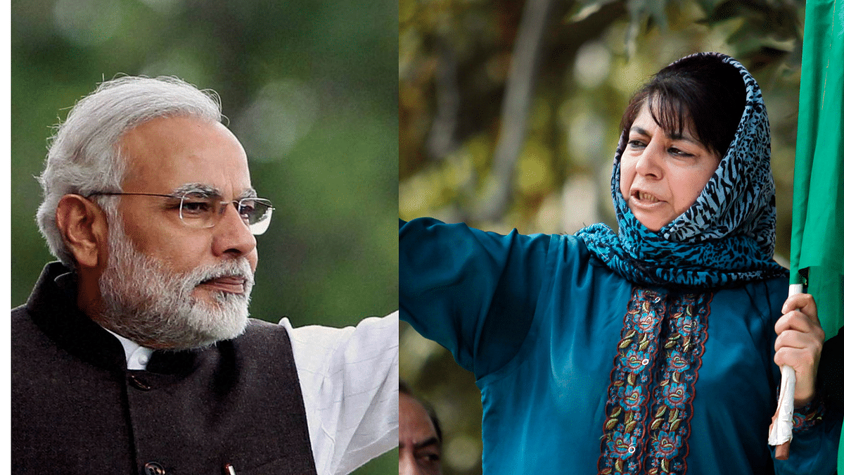 PM Modi's 'Cloud Cover' Remarks Painfully Embarrassing: Mehbooba