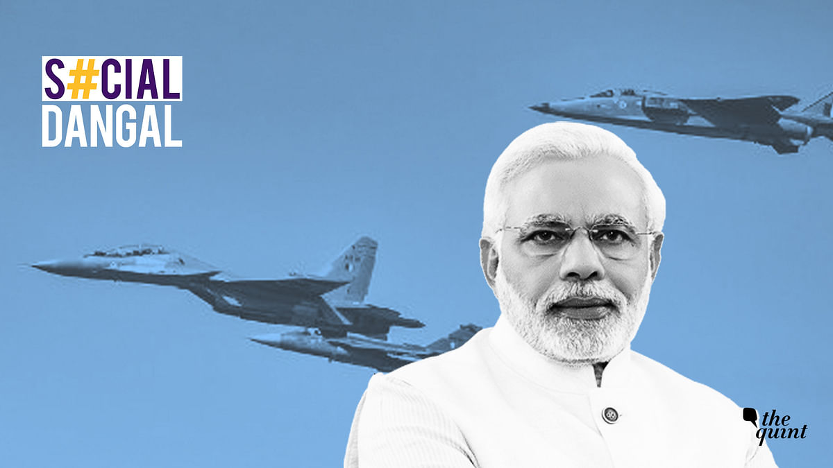 Modi Credits 'Clouds' for Balakot Strike, Twitter Says it's Scary