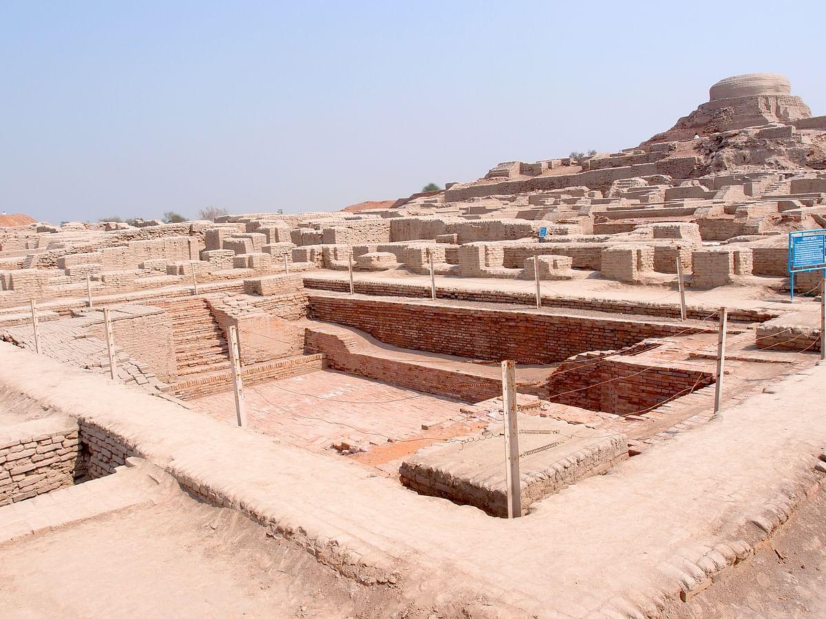 The Great Bath of Mohenjo Daro.