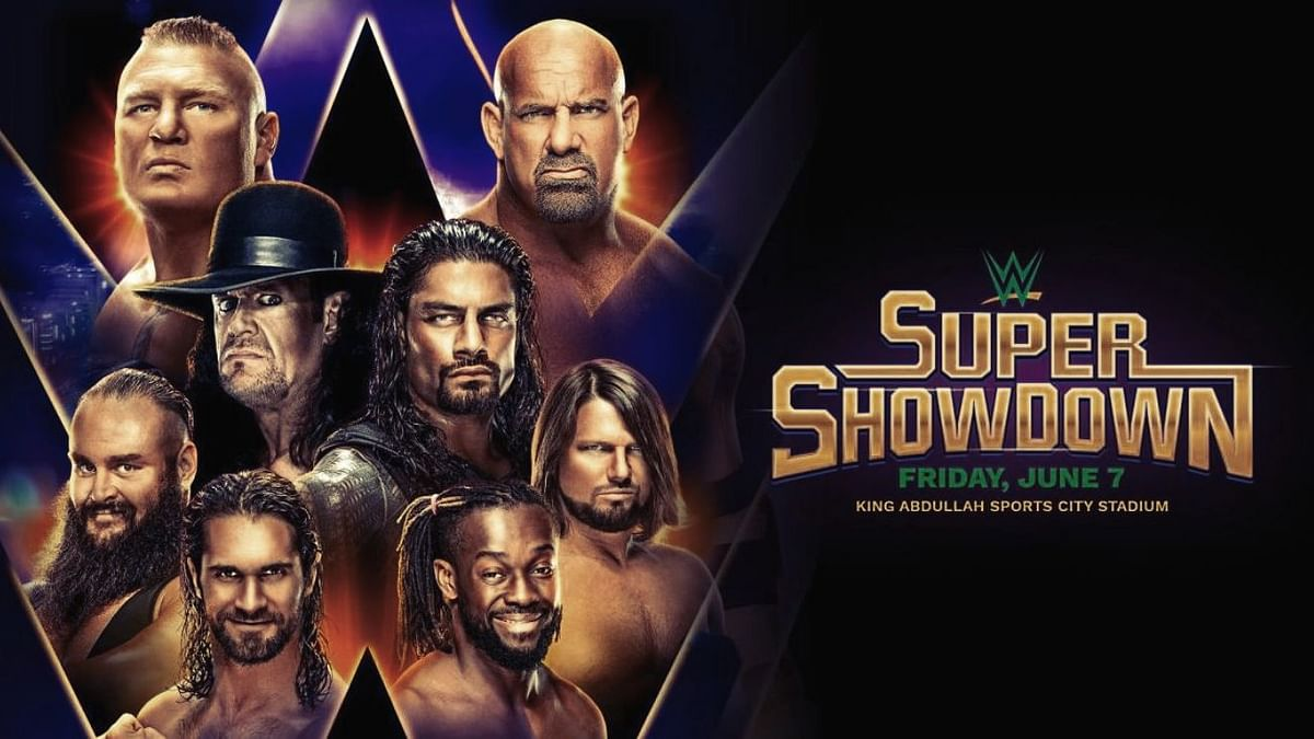 Goldberg and The Phenom are set to go toe to toe on 7 June at the WWE Super ShowDown in Saudi Arabia.