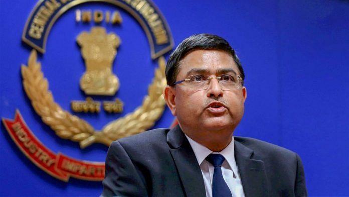 CBI's former special director Rakesh Asthana.