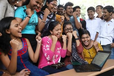 Girls outshine boys in Andhra Class 10 exams. (File Photo: IANS)
