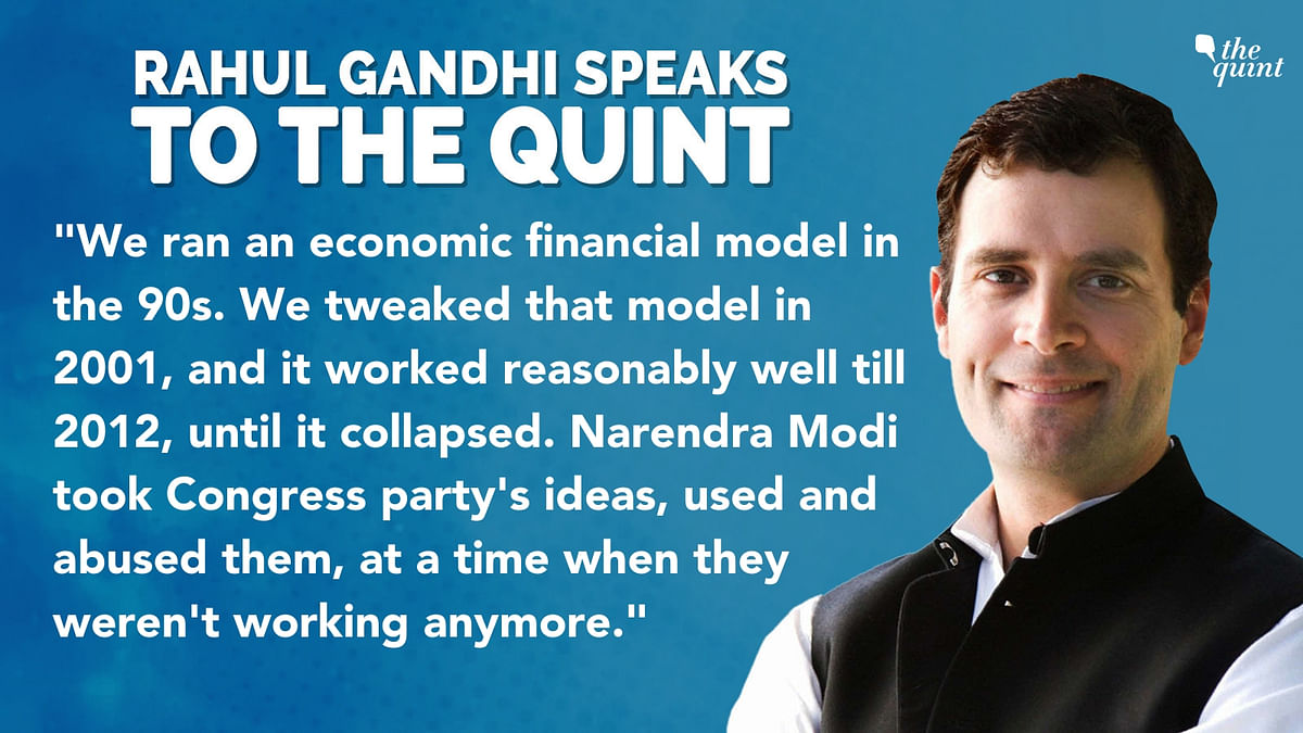 NYAY Will Re-Monetise What PM Modi Demonetised: Rahul Gandhi
