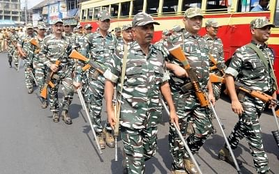 Central Reserve Police Force (CRPF). (File Photo: IANS)