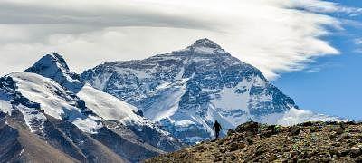 Mount Everest. (Xinhua/Bai Yu/IANS)