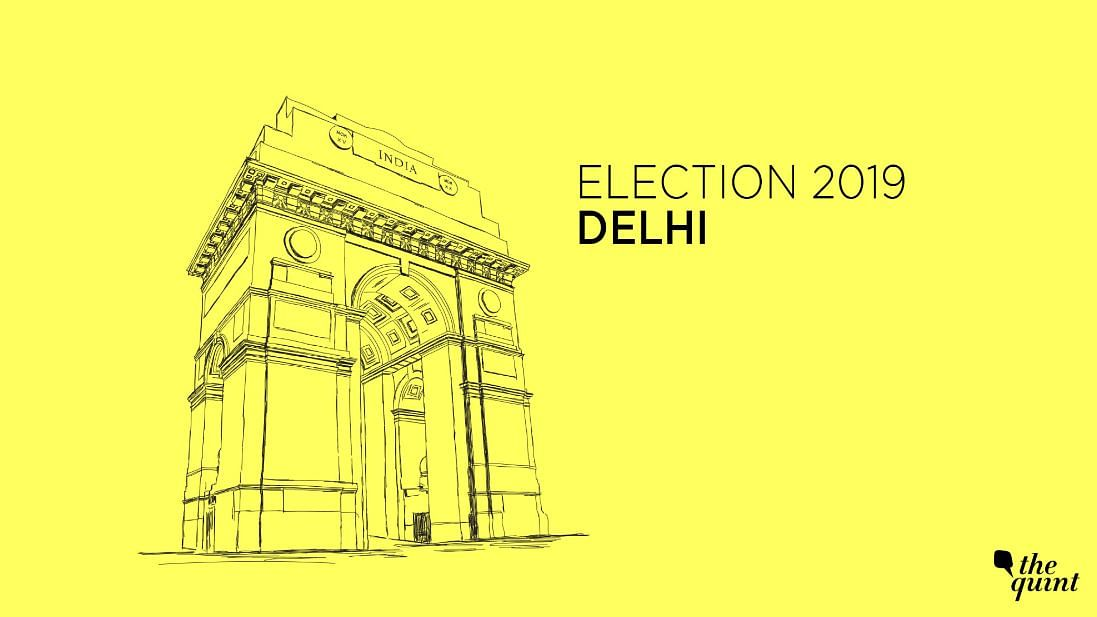 BJP Leading in All 7 Seats in Delhi, AAP Trailing in Third Place
