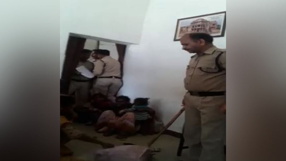 Clip of Gwalior Police Beating Up Women With Kids Is Old, Say Cops