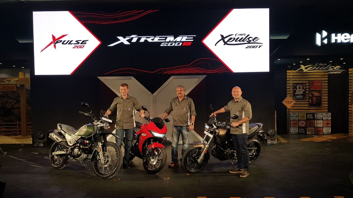 Hero MotoCorp Debuts XPulse Off-Road & Xtreme 200S Bikes in India