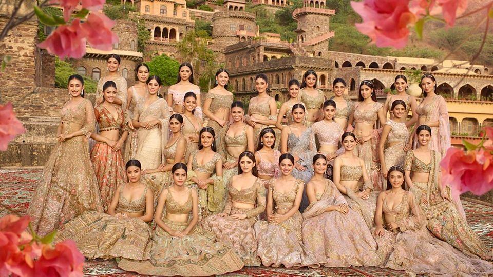 Femina Miss India 2019 Contestants Based on a Fixed Colour ...