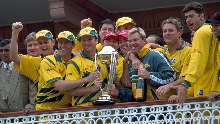 Steve Waugh led Australia to their second World Cup title in 1999.