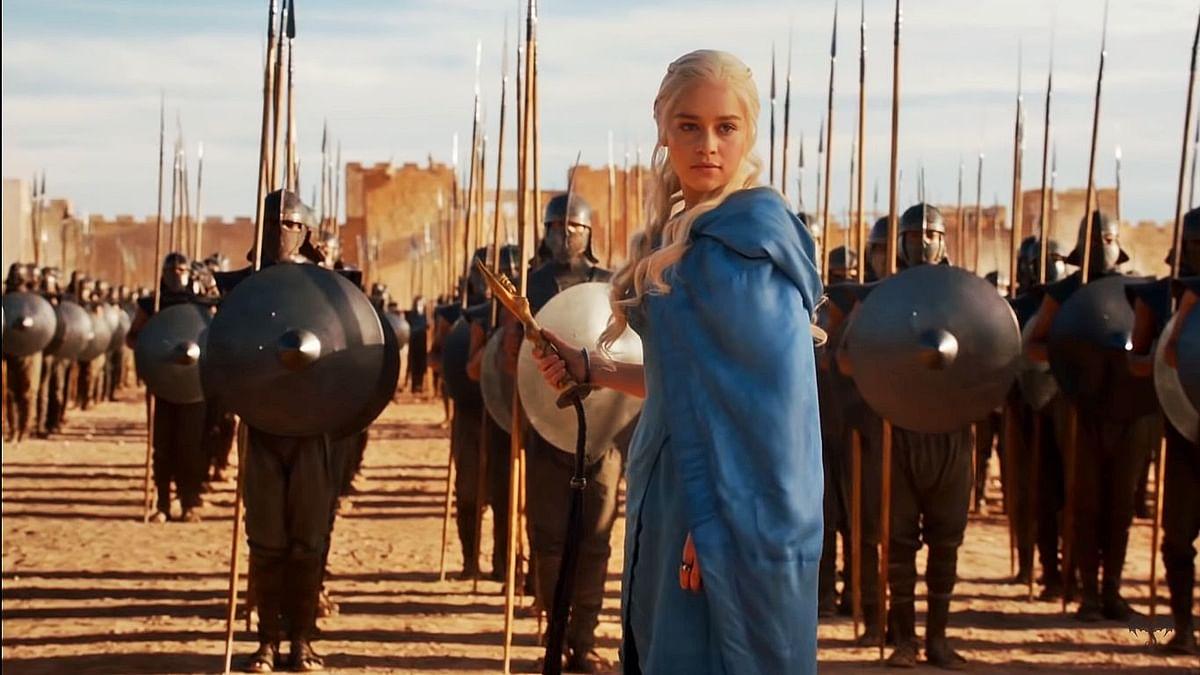 When Daenerys Targaryen frees the Unsullied in season 3.