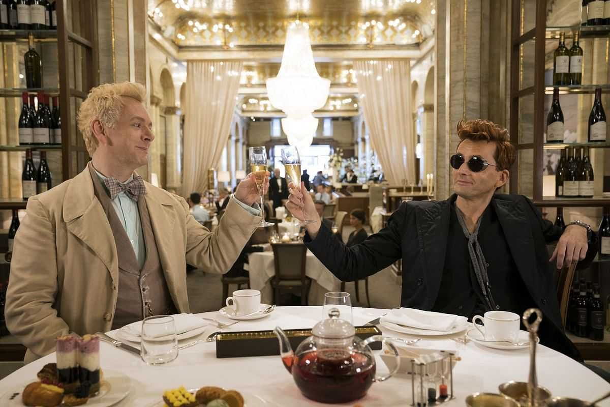 A large part of the appeal of <i>Good Omens</i> is the bromance between its lead characters, the angel Aziraphale and the demon Crowley.