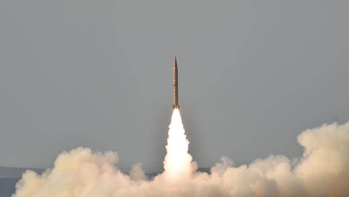 Pakistan Test-Fires Nuclear Capable Ballistic Shaheen-II Missile