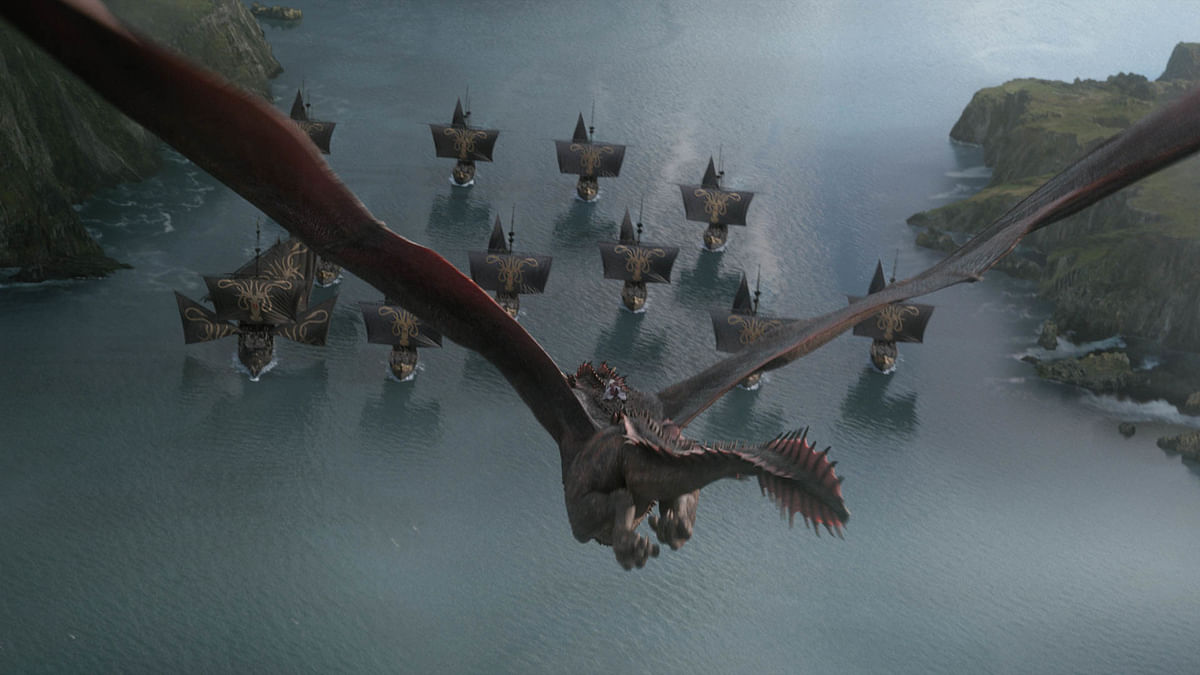 Daenerys attacks Euron Greyjoy's fleet