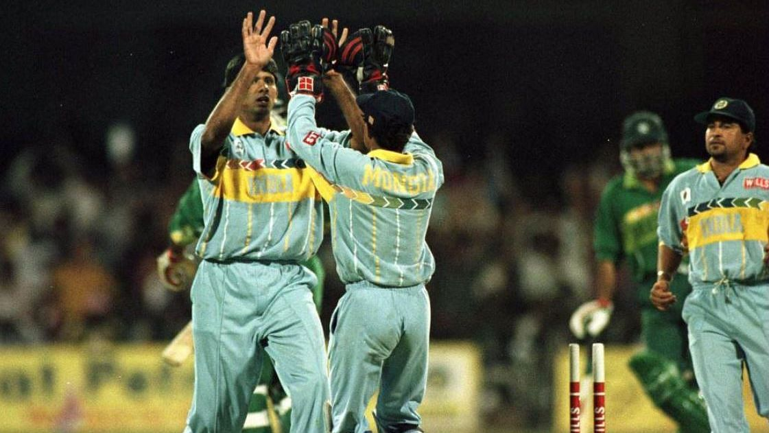 The famous incident with Aamir Sohail often overshadows Prasad's amazing spell against Pakistan at the Chinnaswamy.
