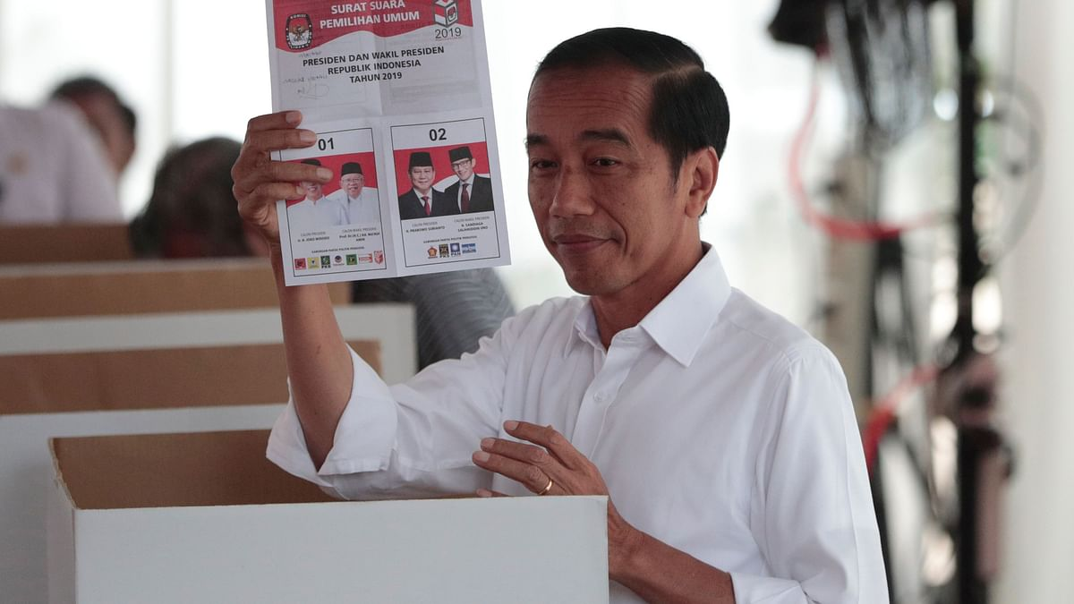 Indonesian President Joko Widodo Elected for Second Term