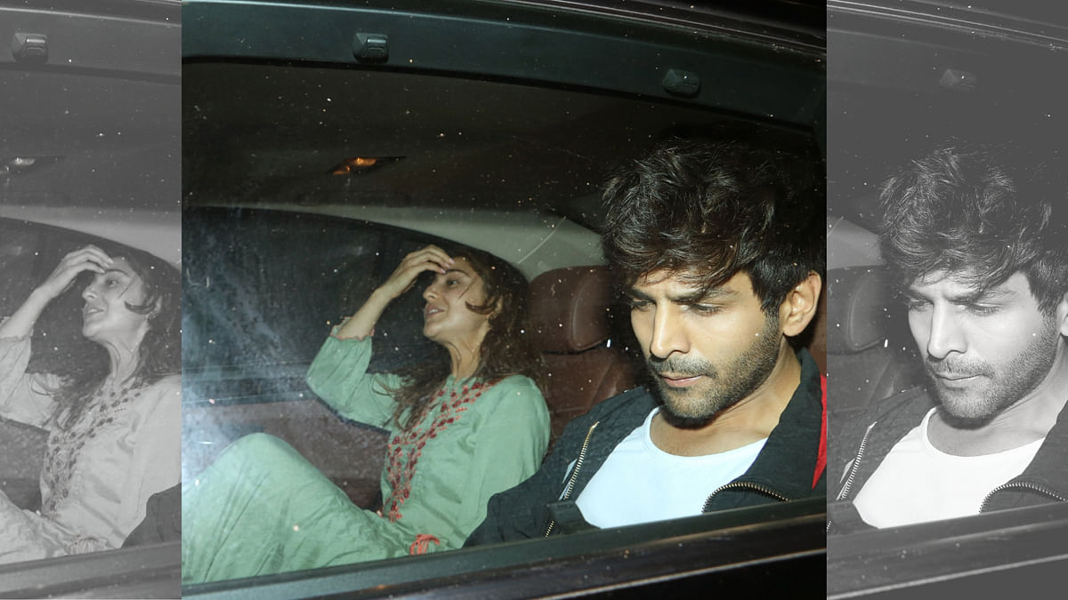 Kartik Aaryan, Sara Ali Khan Share a Ride Post Shooting for Imtiaz
