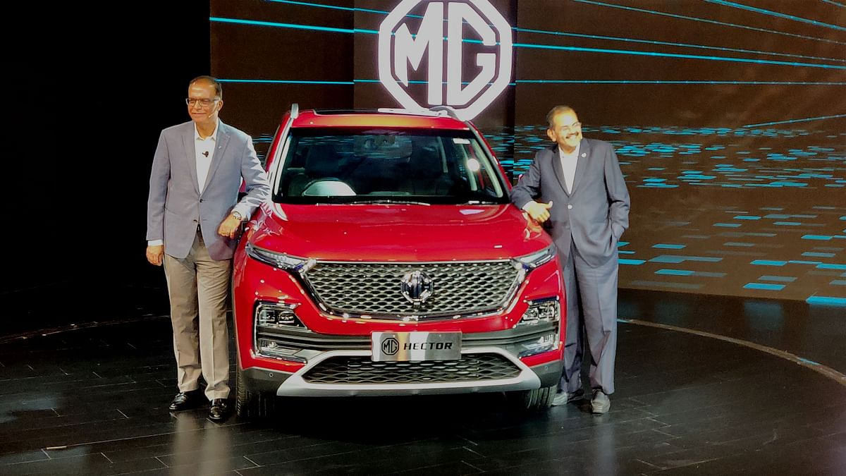 The MG Hector has finally been unveiled. Prices will be announced in June.