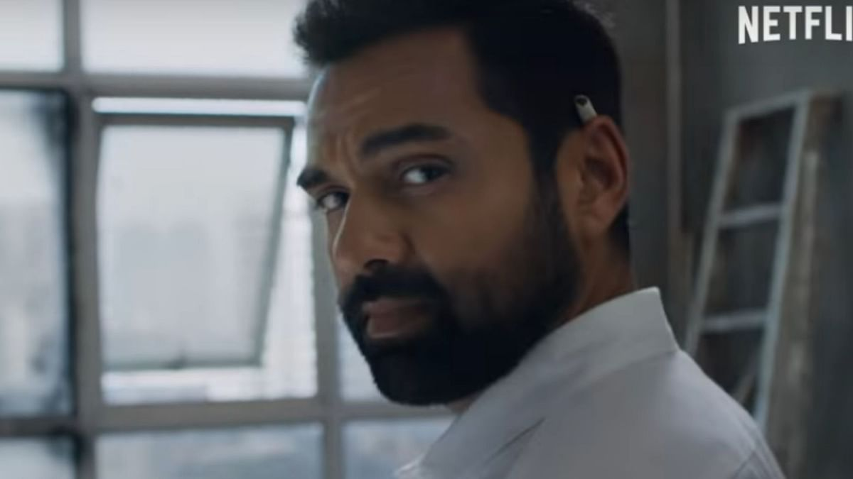 Abhay Deol plays a conman in the film.