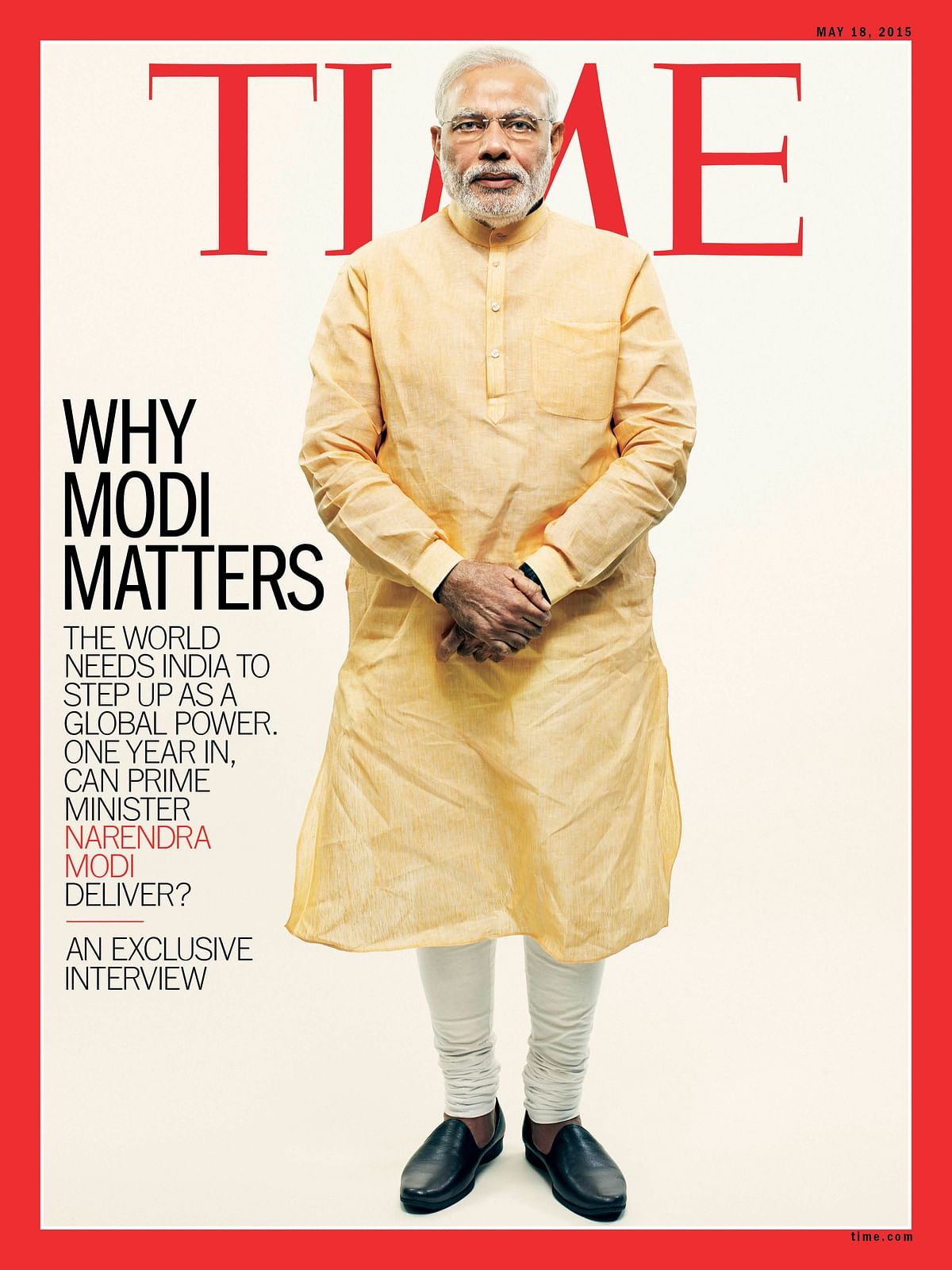 'India's Divider in Chief': TIME Magazine Changes Tone on Modi