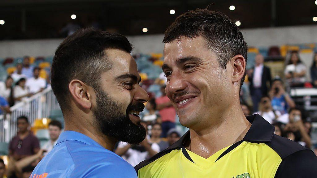 Stokes played alongside Virat Kohli in IPL 2019.