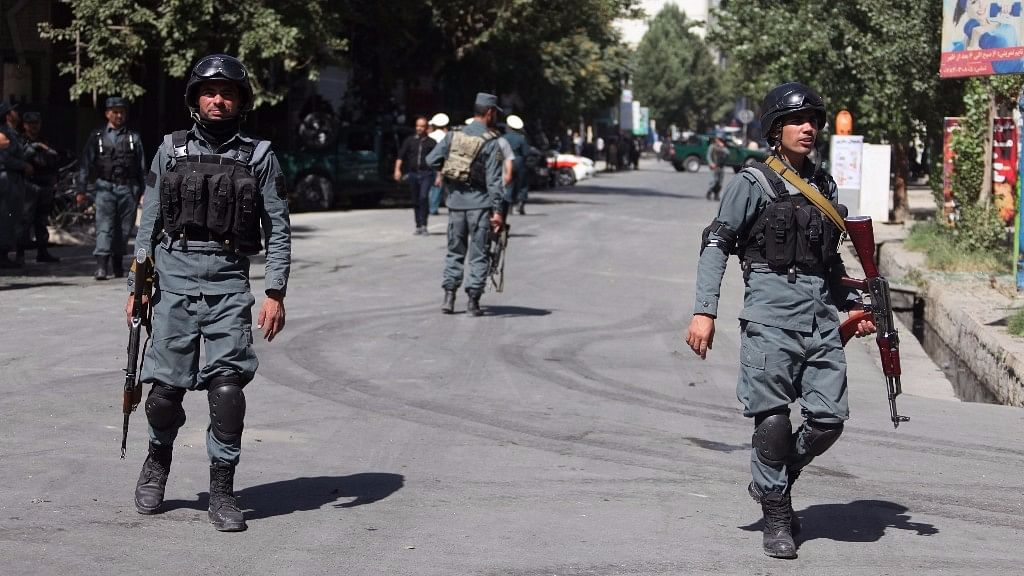File photo of Afghan security force members in Kabul, Afghanistan. Image used for representational purposes.