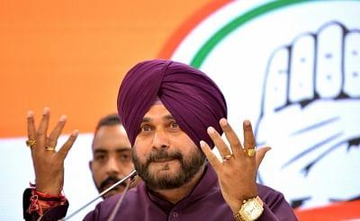 New Delhi: Punjab Minister and Congress leader Navjot Singh Sidhu addresses a press conference in New Delhi, on April 20, 2019. (Photo: IANS)