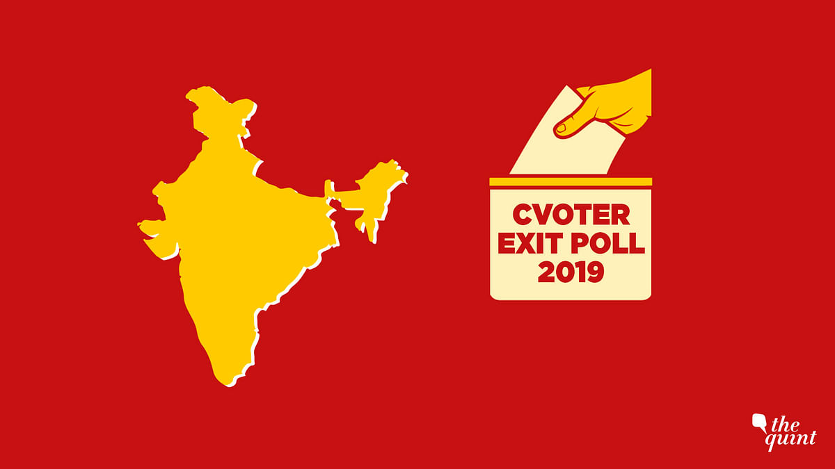 CVoter Exit Poll Predicts 287 for NDA, 128 for UPA, 127 for Others