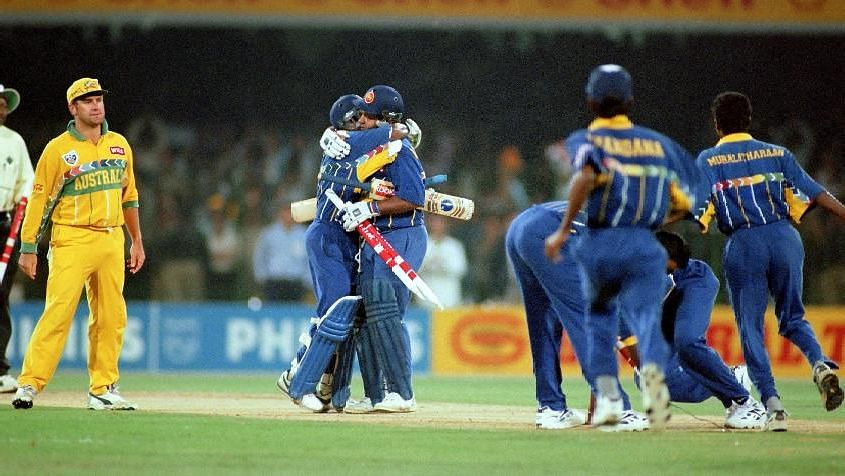 In 1996, Sri Lanka became the third team from Asia to win a World Cup.