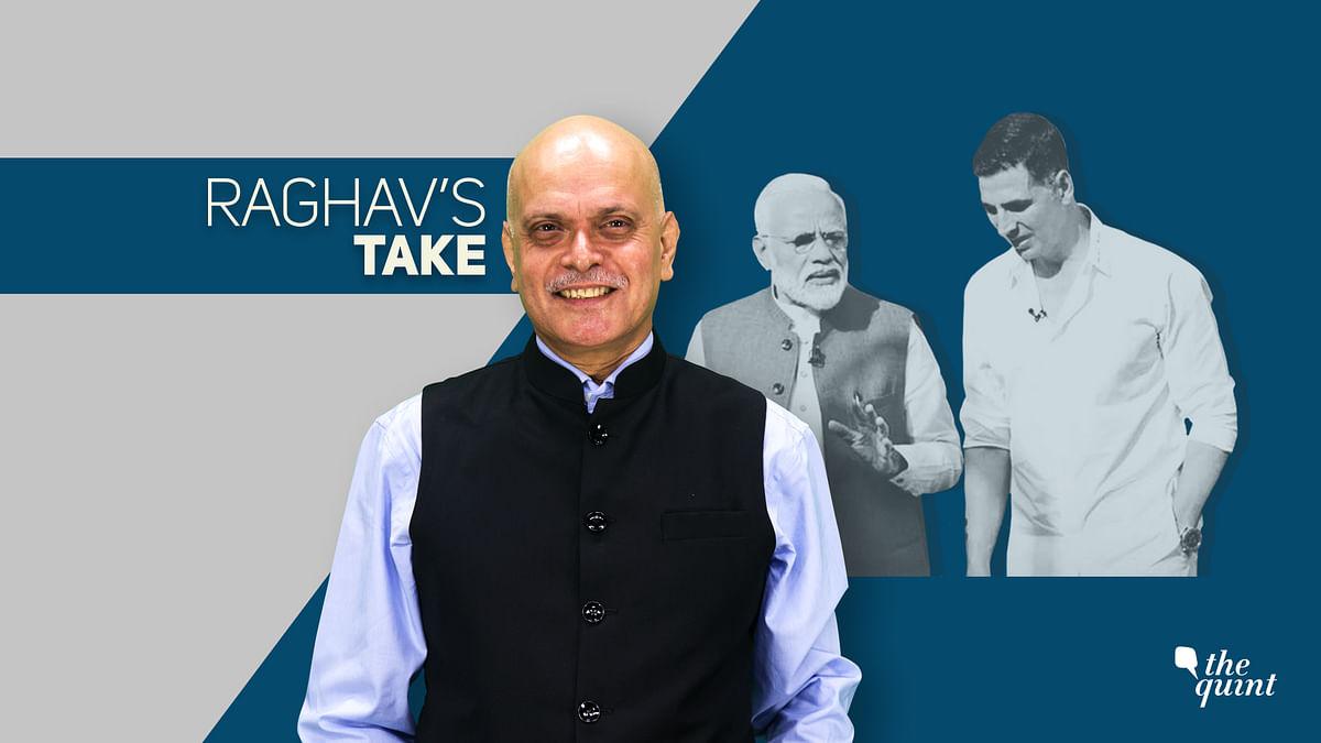 How PM Modi Found a Saviour in Superstar Akshay Kumar