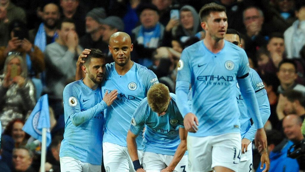 Manchester City Back on Top After Vincent Kompany Wonder Goal