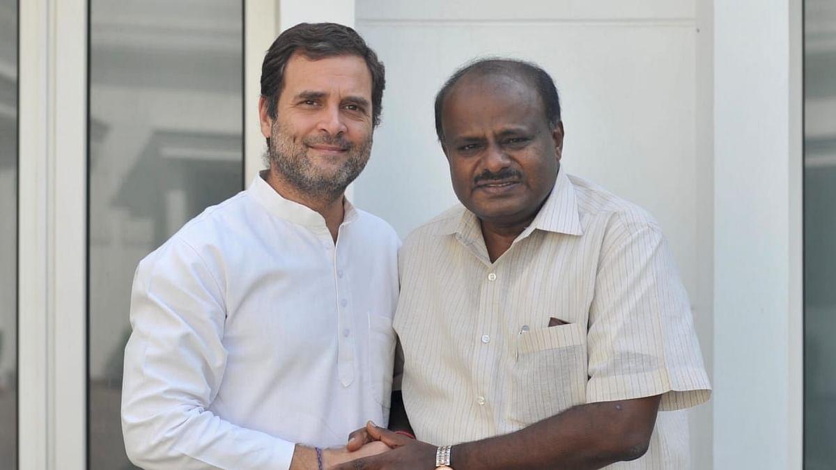 HD Kumaraswamy Meets Rahul Gandhi, Assures Karnataka Govt Is Safe