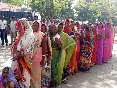 Nearly 60% voting in Bihar LS polls