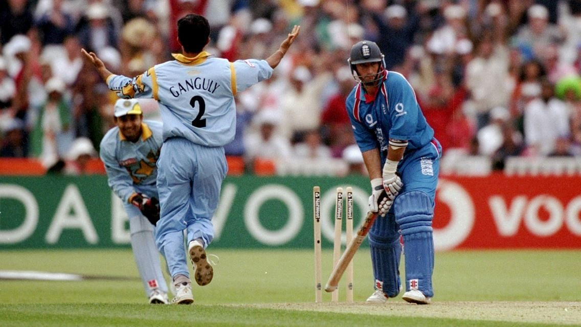Ganguly upped the ante with the ball as well in the 1999 World Cup as he setup India's passage through to the next round.