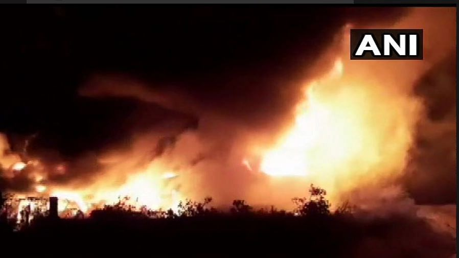 Fire Breaks Out at a Chemical Factory in Gujarat's Valsad