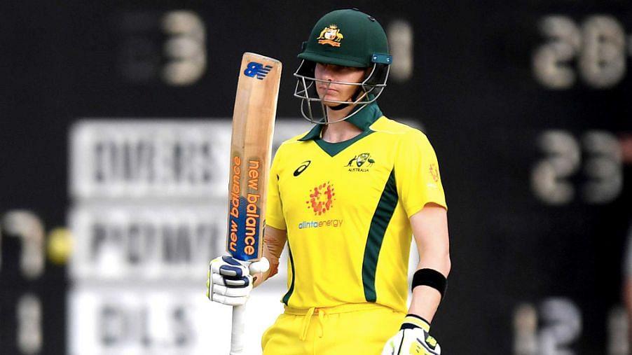 Steve Smith Scores 91* on Return in Australia's World Cup Warmups