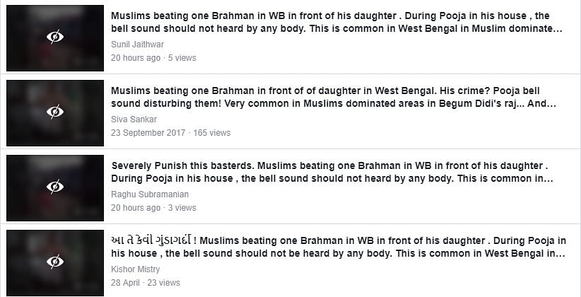Fake Posts Claiming Muslims Thrashed Brahmin Man Resurface