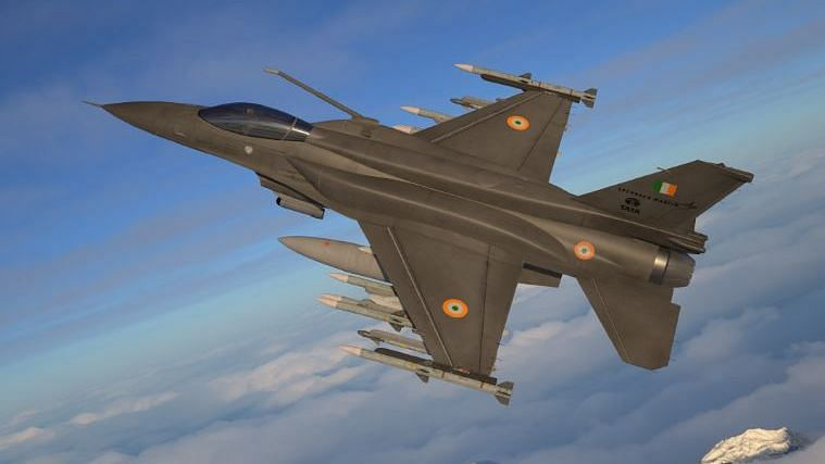 Lockheed Martin's F-21 fighter jet.