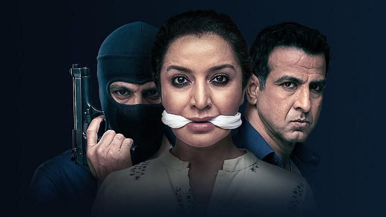Tisca Chopra and Ronit Roy lead the cast of Hotstar's <i>Hostages</i>.