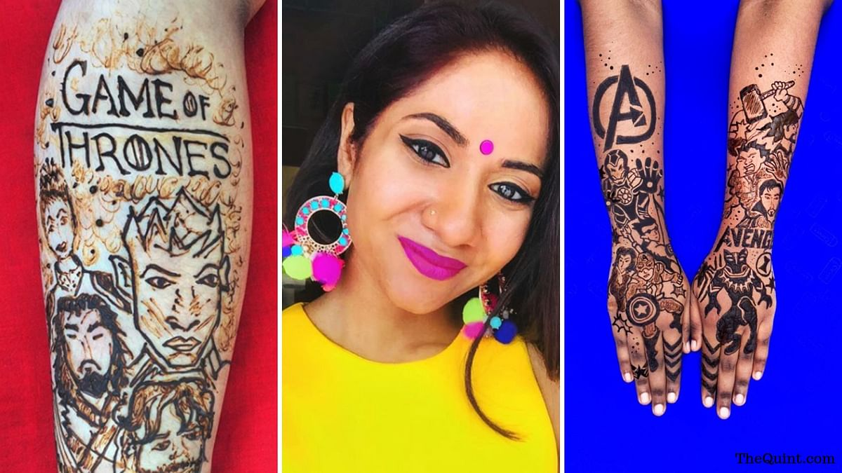 Avengers and GoT Inspired Body-Art That Every Nerd Needs to Know