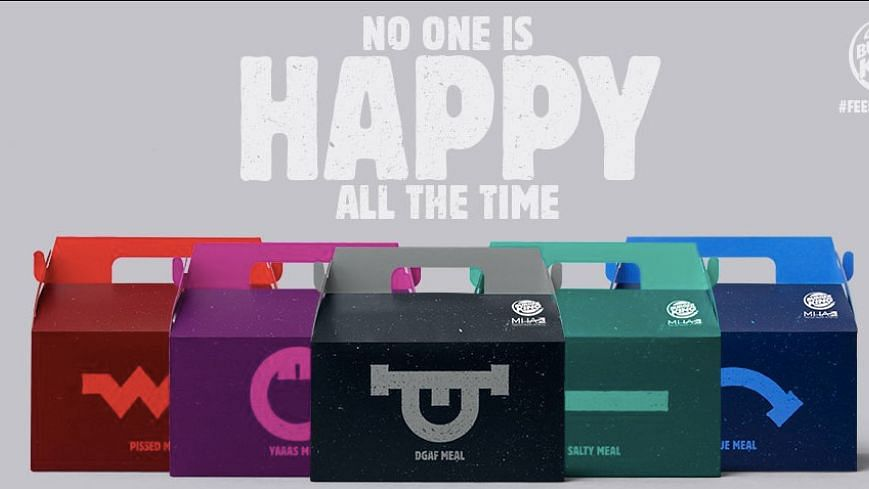 No one is happy all the time and isn't that true?