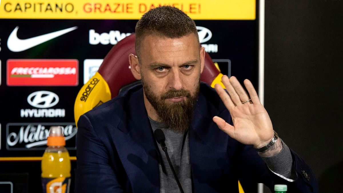 Roma surprisingly announced Daniele De Rossiwould leave at the end of the season after 18 years at the capital club.
